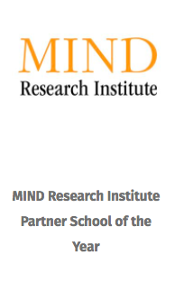 MIND Research institute Partner school of the year