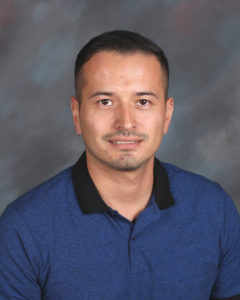 Giovanny Cevallos Instructional Assistant