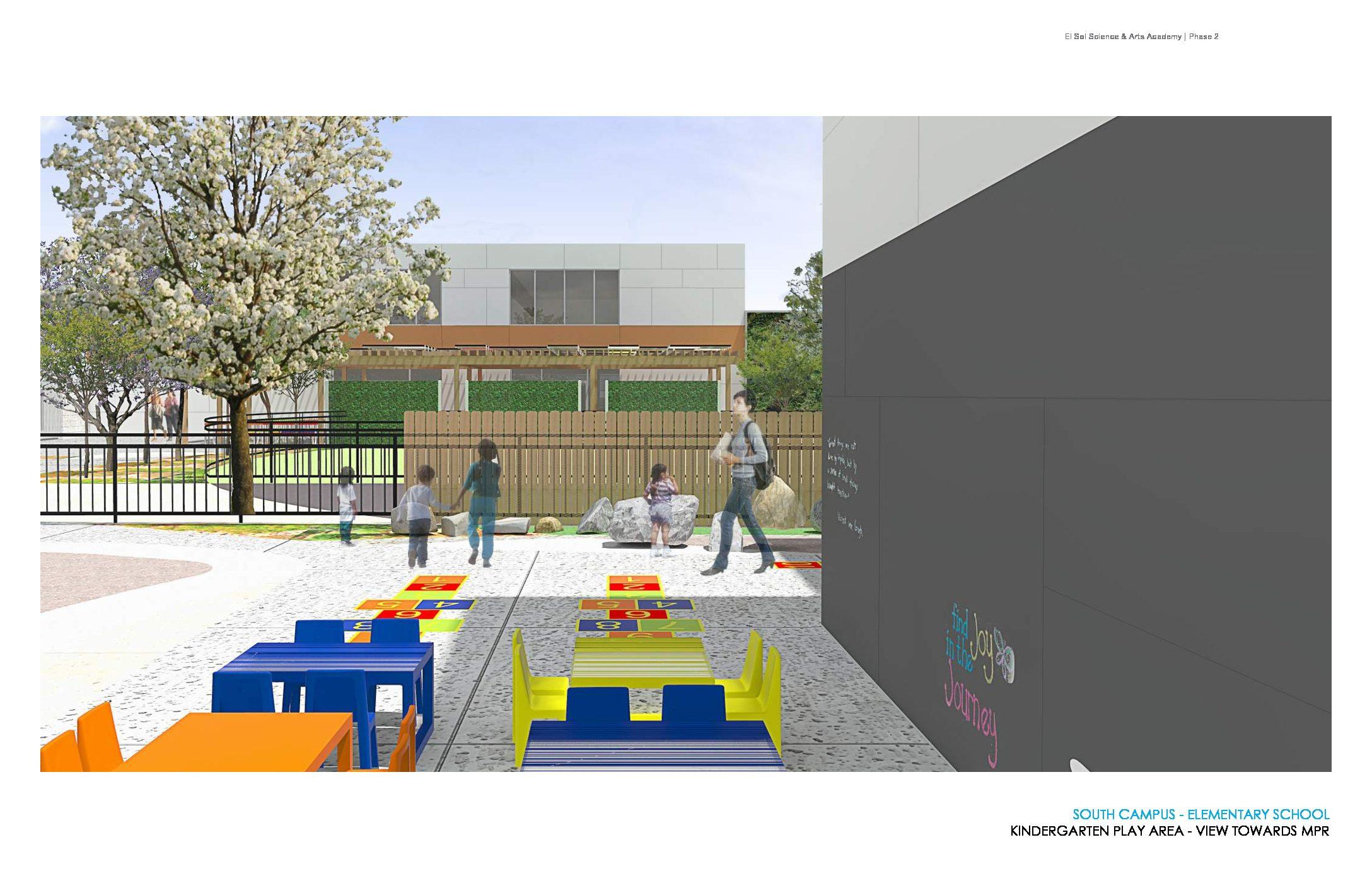 El Sol Academy New Campus Playground