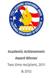 Academic Achievement Award winner, two time recipient